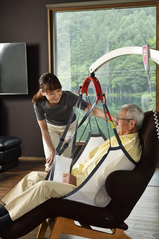 介護リフトつるべーG 居室使用